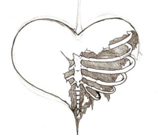 Tumblr Static Broken Heart Pic